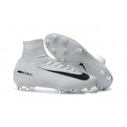 Buty piłkarskie Meskie Nike Mercurial Superfly 5 FG Biały Czarny