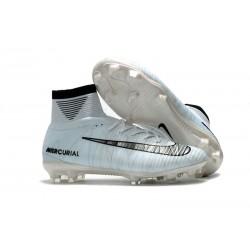 Nowe Buty piłkarskie Nike Mercurial Superfly V FG CR7 Niebieski Czarny Biały Volt