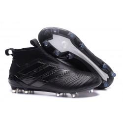 Buty piłkarskie Sklep Adidas ACE 17+ PureControl FG Wszystko Czarne