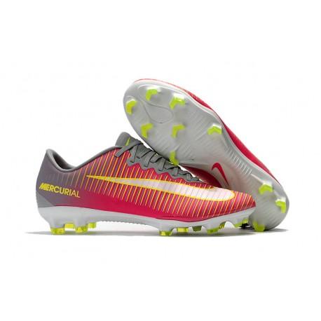 uważaj na sekcja specjalna kupuj bestsellery Korki Piłkarskie Meskie Nike Mercurial Vapor XI FG RÓŻowy Szary ŻÓłty