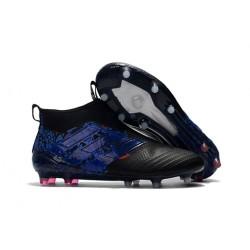 Korki Piłkarskie Adidas ACE 17+ PureControl FG - Meskie Błękitny Czarny Smok