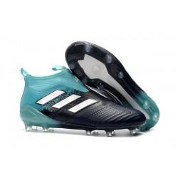 Nowe Buty piłkarskie Adidas ACE 17+ PureControl FG Niebieski Czarny Biały