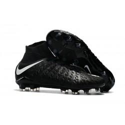 Tanie Buty piłkarskie Nike Hypervenom Phantom 3 DF FG Czarny biały