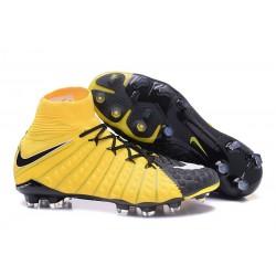 Najnowsze Korki Piłkarskie Nike Hypervenom Phantom 3 DF FG Żółty Czarny