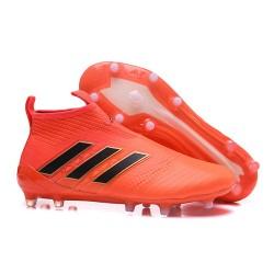 Buty piłkarskie - Tanie Adidas ACE 17+ PureControl FG Pomarańczowy Czarny