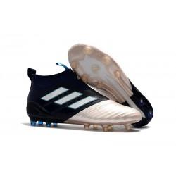 Buty piłkarskie Sklep Adidas ACE 17+ PureControl FG Kith Złoty Czarny Biały