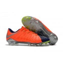 Nowe Korki Piłkarskie Nike HyperVenom Phantom III FG PomaraŃczowy Niebieski Srebrny