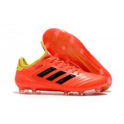 Buty Piłkarskie Meskie Adidas Copa 18.1 FG Czerwony Zólty