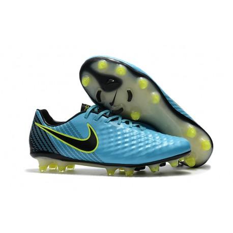 najlepsza cena specjalne do butów najbardziej popularny Profesjonalne Korki Piłkarskie Nike Magista Opus II FG Niebieski Volt Czarny