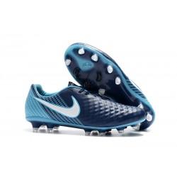 Profesjonalne Korki Piłkarskie Nike Magista Opus II FG Niebiesko Biały