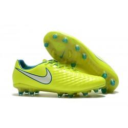 Buty piłkarskie Meskie Nike Magista Opus 2 FG Wolt Biały