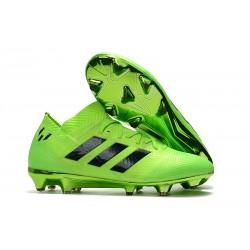 Buty piłkarskie Meskie Adidas Nemeziz Messi 18.1 FG Zielony Czarny