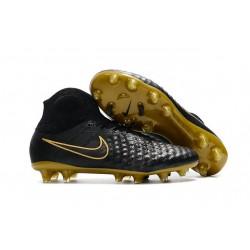 Nowe Buty piłkarskie Nike Magista Obra II FG Czarne Złoto