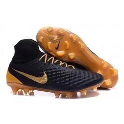 Profesjonalne Buty piłkarskie Nike Magista Obra II FG Czarne Złoto