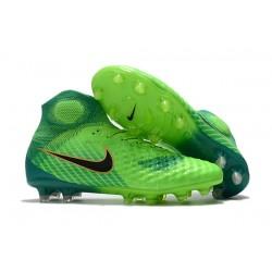 Najnowsze Korki Piłkarskie Nike Magista Obra II FG Zielony Czarny