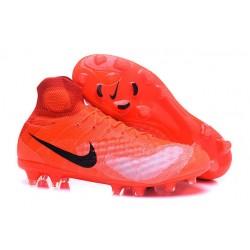 Korki Piłkarskie Sklep Nike Magista Obra II FG Pomarańczowy Czarny