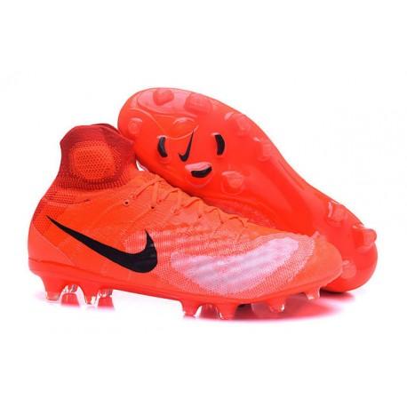 niska cena super tanie najlepsza cena Korki Piłkarskie Sklep Nike Magista Obra II FG Pomarańczowy Czarny
