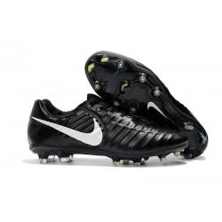 Buty piłkarskie Sklep Nike Tiempo Legend VII FG Czarny Biały