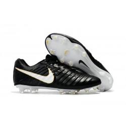 Korki Piłkarskie Nike Tiempo Legend 7 FG Czarne Białe Złoto