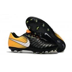 Korki Piłkarskie Nike Tiempo Legend 7 FG Czarny Biały ŻÓłty