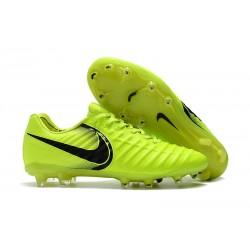 Tanie Buty piłkarskie Nike Tiempo Legend VII FG Wolt Czarny