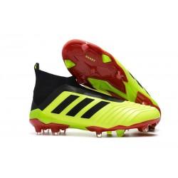 Nowe Korki Piłkarskie Adidas Predator 18+ FG Solar Yellow Core Black Solar