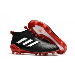 Nowe Buty piłkarskie Adidas ACE 17+ PureControl FG Czarny Czerwony Biały