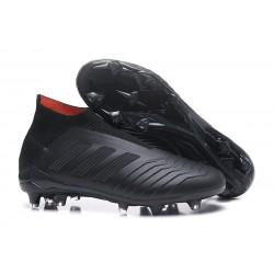 Nowe Korki Piłkarskie Adidas Predator 18+ FG Wszystko Czarne