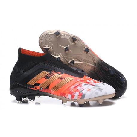 szczegółowe obrazy niesamowity wybór nowy wygląd Nowe Korki Piłkarskie Adidas Predator Telstar 18+ FG Czarny Metaliczny  Copper Szary
