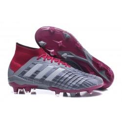 Nowe Korki Piłkarskie Adidas Predator 18.1 FG Zelazny Metalik