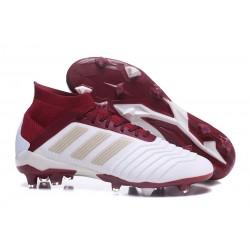 Buty piłkarskie Sklep Adidas Predator 18.1 FG Biało Czerwony