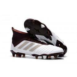 Profesjonalne Buty piłkarskie Adidas Predator 18.1 FG Biały Brązowy