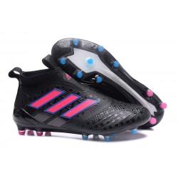 Nowe Buty piłkarskie Adidas ACE 17+ PureControl FG Czarny Różowy Niebieski