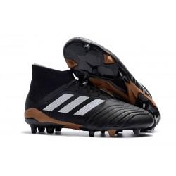 Nowe Korki Piłkarskie Adidas Predator 18.1 FG Czarny Bialy Czerwony