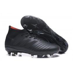 Profesjonalne Buty piłkarskie Adidas Predator 18.1 FG Wszystko Czarne