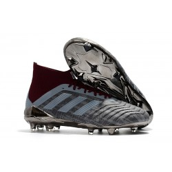 Korki Piłkarskie Adidas PP Predator 18.1 FG Żelazny Metalik
