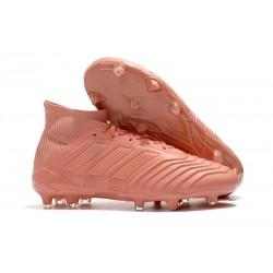 Nowe Korki Piłkarskie Adidas Predator 18.1 FG Różowy