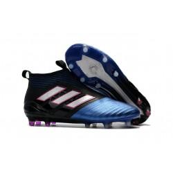 Buty piłkarskie Sklep Adidas ACE 17+ PureControl FG Rdzeń Czarny Biały Niebieski