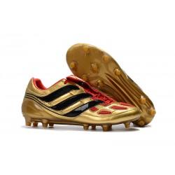 Nowe Buty piłkarskie Adidas Predator Precision FG Czarny Złoty Czerwony