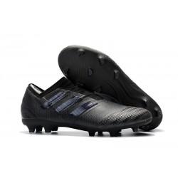 Profesjonalne Buty piłkarskie - Adidas Nemeziz 17+ 360 Agility FG Wszystko Czarne