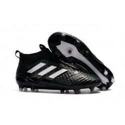 Korki Piłkarskie Adidas ACE 17+ PureControl FG - Meskie Czarny Biały