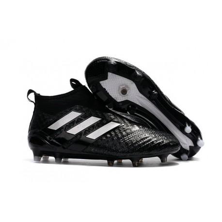 później 100% autentyczności nowy produkt Korki Piłkarskie Adidas ACE 17+ PureControl FG - Meskie Czarny Biały
