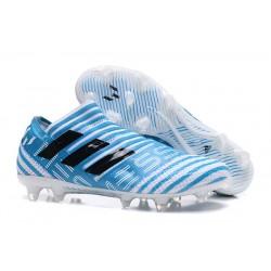 Meskie Korki pilkarskie Adidas Nemeziz 17+ 360 Agility FG Niebieski Biały Czarny