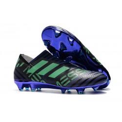 Nowe Buty piłkarskie - Adidas Nemeziz 17+ 360 Agility FG Atramentowy Zielony Czarny