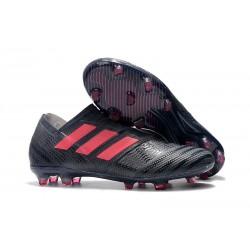 Profesjonalne Buty piłkarskie - Adidas Nemeziz 17+ 360 Agility FG Czarny Różowy