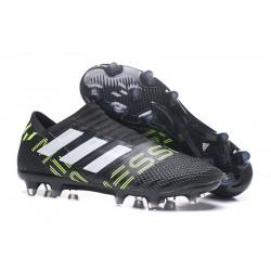 Meskie Korki pilkarskie Adidas Nemeziz 17+ 360 Agility FG Czarny Biały ŻÓłty
