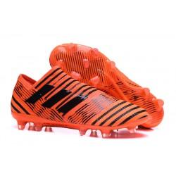 Meskie Korki pilkarskie Adidas Nemeziz 17+ 360 Agility FG Pomarańczowy Czarny