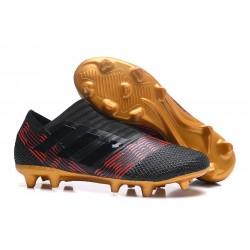 Nowe Korki pilkarskie Adidas Nemeziz 17+ 360 Agility FG Skystalker Czarny Złoty Czerwony