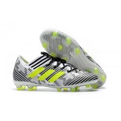 Nowe Buty piłkarskie adidas Nemeziz Messi 17.1 FG Biały ŻÓłty Czarny