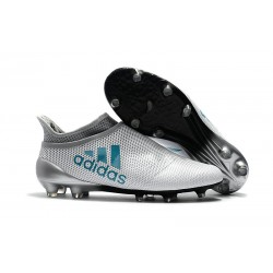 Nowe Buty Meskie adidas X 17+ FG - Bialy Niebieski Energy Czysty Szary